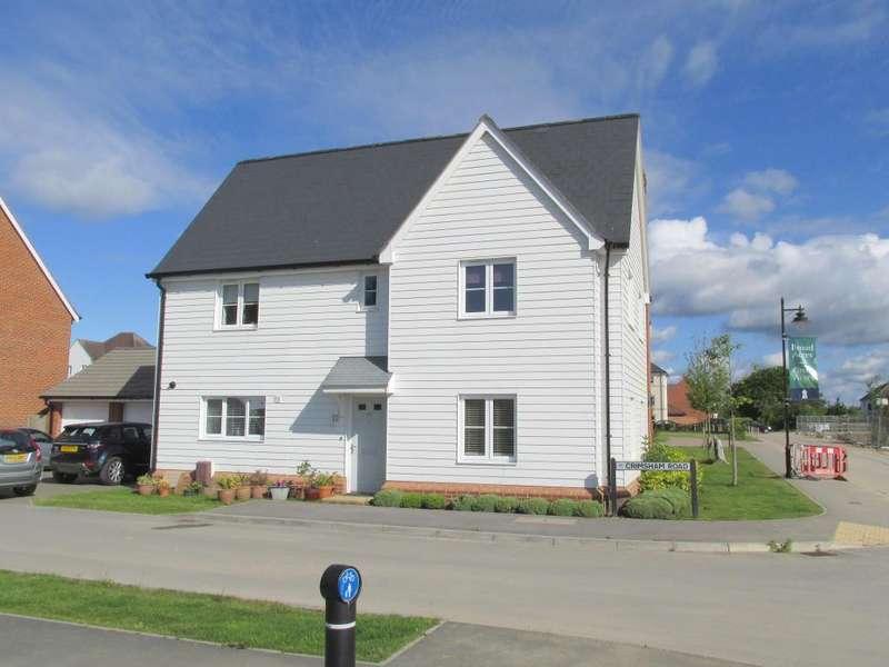 4 Bedrooms Detached House for sale in Crimsham Road, North Bersted, Bognor Regis, West Sussex, PO21 5BG