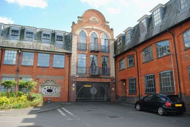 2 Bedrooms Flat for sale in Webbs Factory, Brockton Street, Northampton NN2 6HA