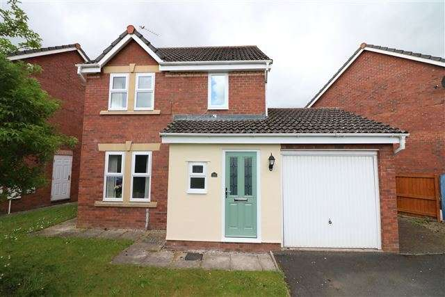 3 Bedrooms Detached House for sale in Leywell Drive, Carlisle, Cumbria, CA1 3TN