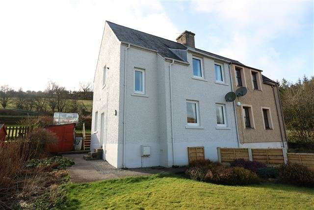 3 Bedrooms Semi Detached House for sale in Holmwood Crescent, Langholm, Dumfries And Galloway, DG13 0PU