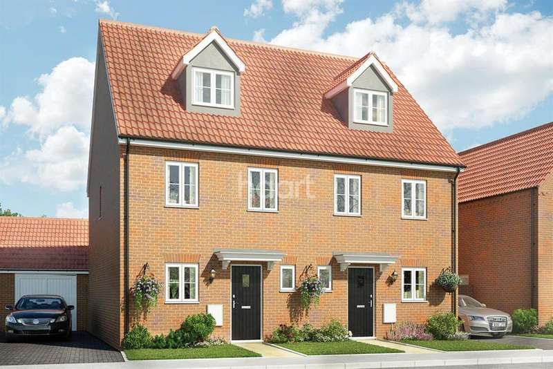 3 Bedrooms Semi Detached House for sale in The Palmerston, Saxon Fields