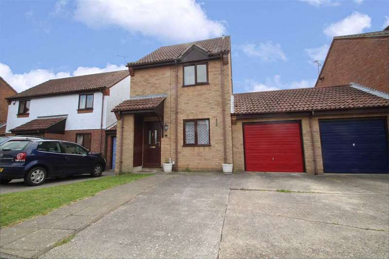 2 Bedrooms Link Detached House for sale in Hockney Gardens, Ipswich