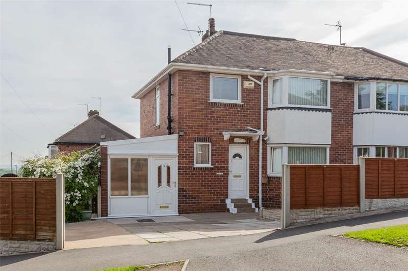 3 Bedrooms Semi Detached House for sale in Somercotes Road, Sheffield, South Yorkshire, S12