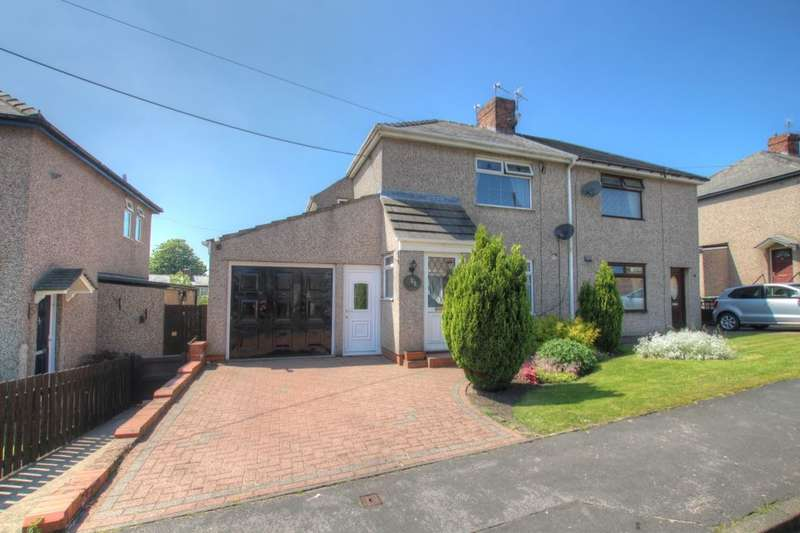 3 Bedrooms Semi Detached House for sale in The Grove, Coxhoe, Durham, DH6