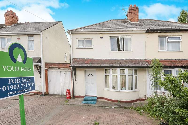 3 Bedrooms Semi Detached House for sale in Veronica Avenue, Wolverhampton, WV4