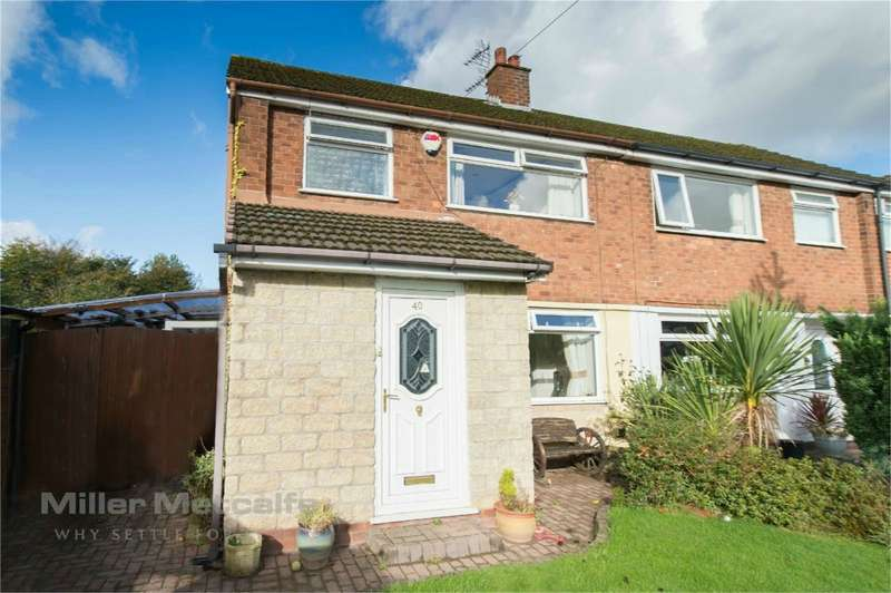 3 Bedrooms Semi Detached House for sale in Brook Gardens, Harwood, Bolton, Lancashire
