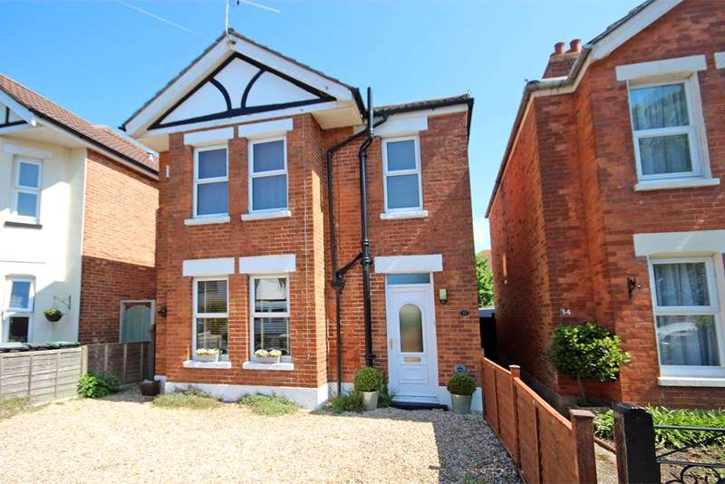 3 Bedrooms Detached House for sale in Inverleigh Road, Southbourne, Bournemouth