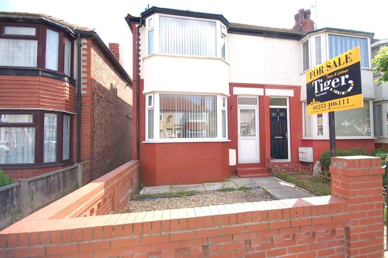 2 Bedrooms End Of Terrace House for sale in Highbank Avenue, Blackpool
