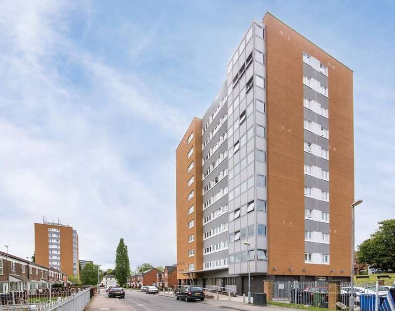 2 Bedrooms Flat for sale in Montreal House, Edgbaston, B5 7XR