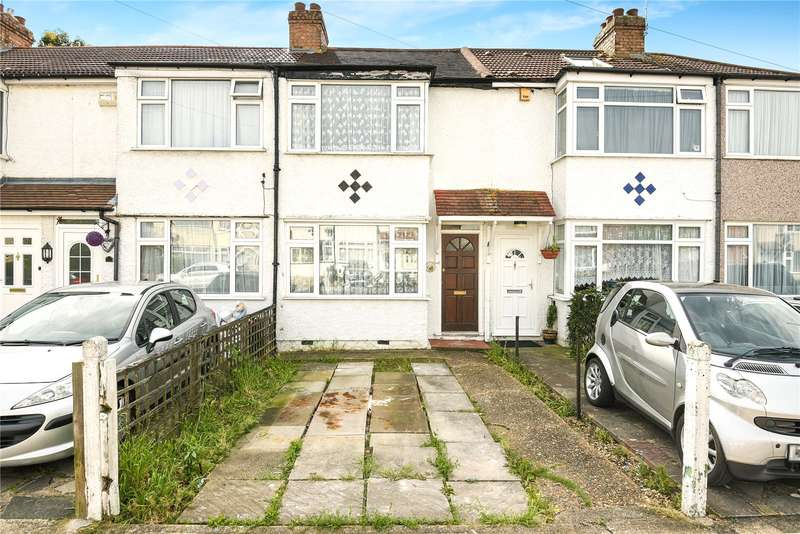 2 Bedrooms Terraced House for sale in Oakleigh Road, Hillingdon, Middlesex, UB10