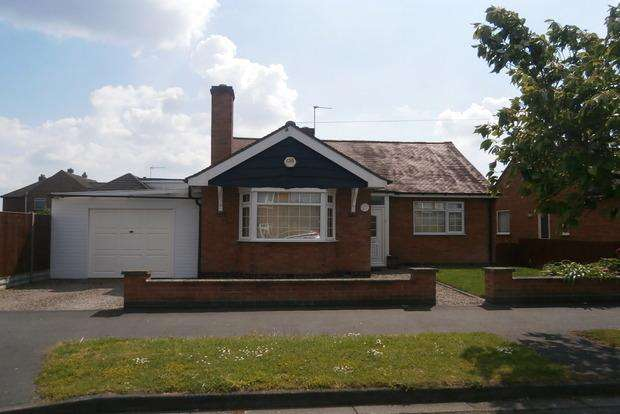 2 Bedrooms Detached Bungalow for sale in Triumph Road, Glenfield, Leicester, LE3