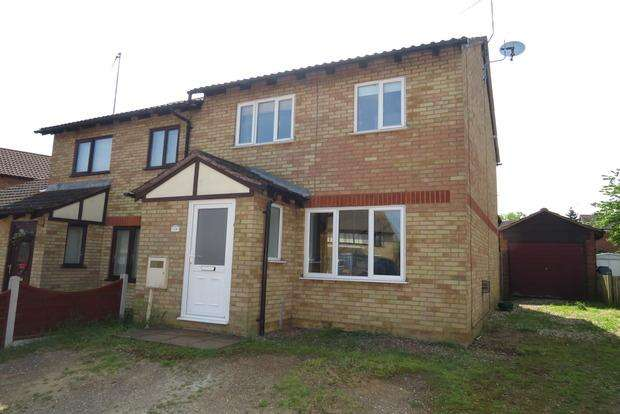3 Bedrooms Semi Detached House for sale in Bollinger Close, Duston, Northampton, NN5
