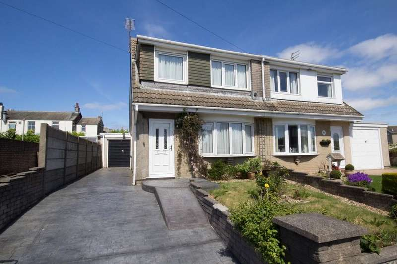 3 Bedrooms Semi Detached House for sale in Leighton Drive, Barrow-In-Furness