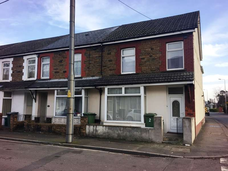 4 Bedrooms End Of Terrace House for sale in Tudor Street, Rhydyfelin, Pontypridd