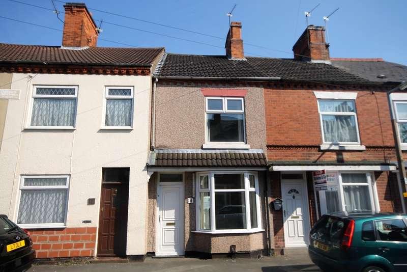 3 Bedrooms Terraced House for sale in Manor Street, Hinckley