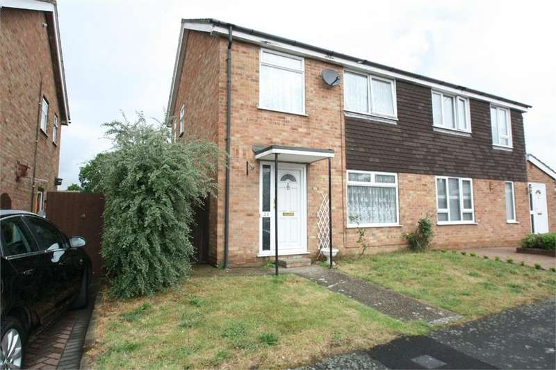 3 Bedrooms Semi Detached House for sale in Kempson Drive, Great Cornard, SUDBURY, Suffolk