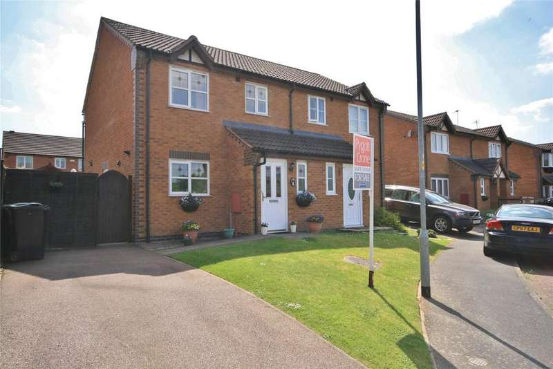 3 Bedrooms Semi Detached House for sale in The Belfry, Grantham, NG31