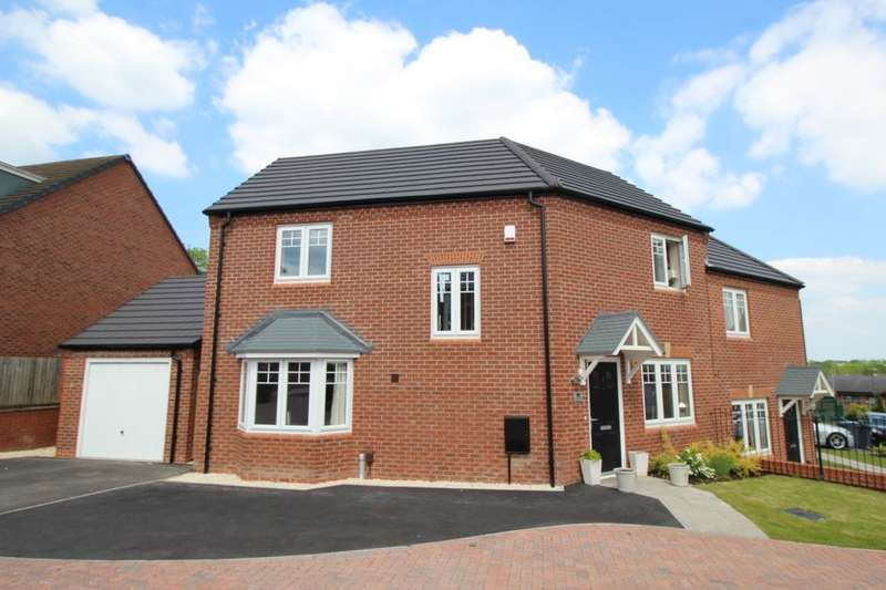 3 Bedrooms Semi Detached House for sale in Honeysuckle Way, Rubery,Rednal, Birmingham, B45