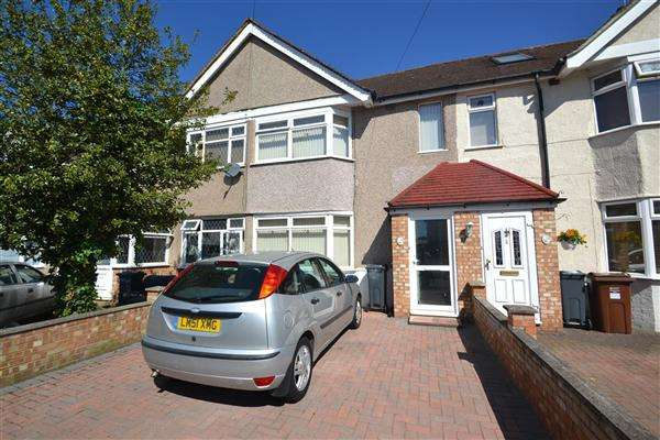 2 Bedrooms Terraced House for sale in Ellington Road, Feltham