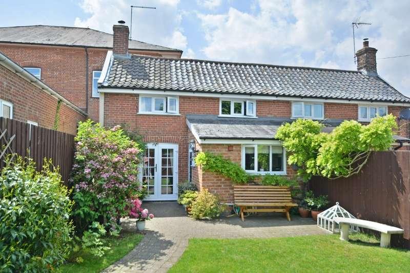 2 Bedrooms Semi Detached House for sale in Laxfield Road, Stradbroke