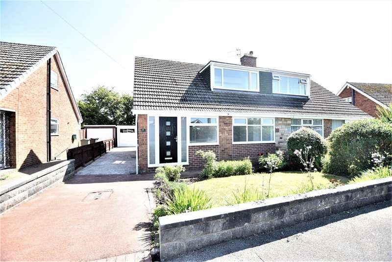 3 Bedrooms Semi Detached House for sale in Winchester Drive, Poulton-Le-Fylde