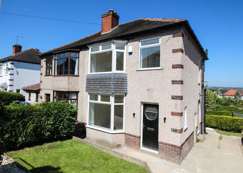 3 Bedrooms Semi Detached House for sale in Allenby Drive, Greenhill, Sheffield, S8 7RS
