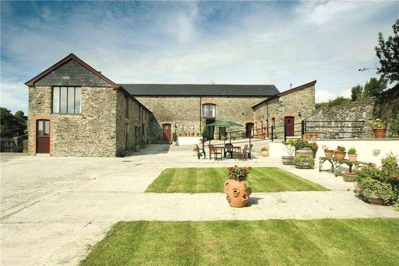 5 Bedrooms Detached House for sale in Cornworthy, Totnes, Devon