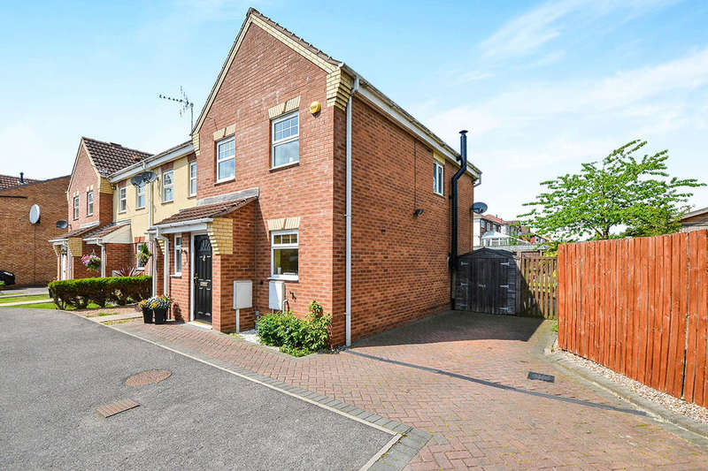 2 Bedrooms Semi Detached House for sale in Woodfield Road, South Normanton, Alfreton, DE55