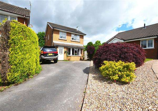 4 Bedrooms Detached House for sale in Sterndale Drive, Westbury Park, Newcastle