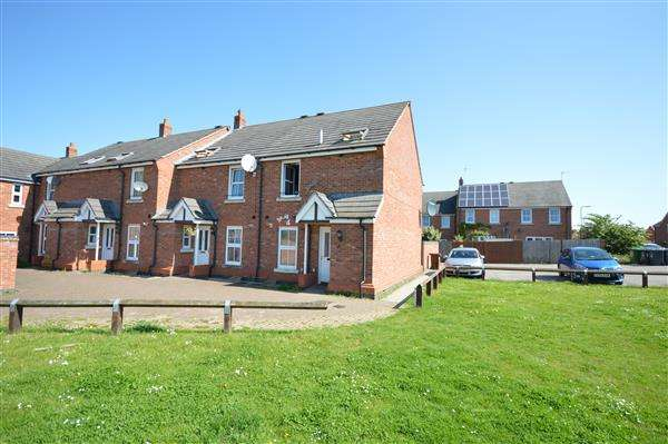 3 Bedrooms End Of Terrace House for sale in FARNBOROUGH CLOSE, CORBY