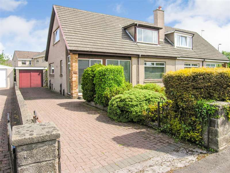3 Bedrooms Semi Detached House for sale in Broomside Place, Larbert