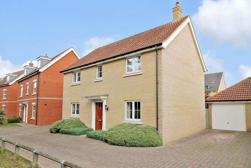 4 Bedrooms Detached House for sale in Sage Court, Red Lodge, IP28 8GN