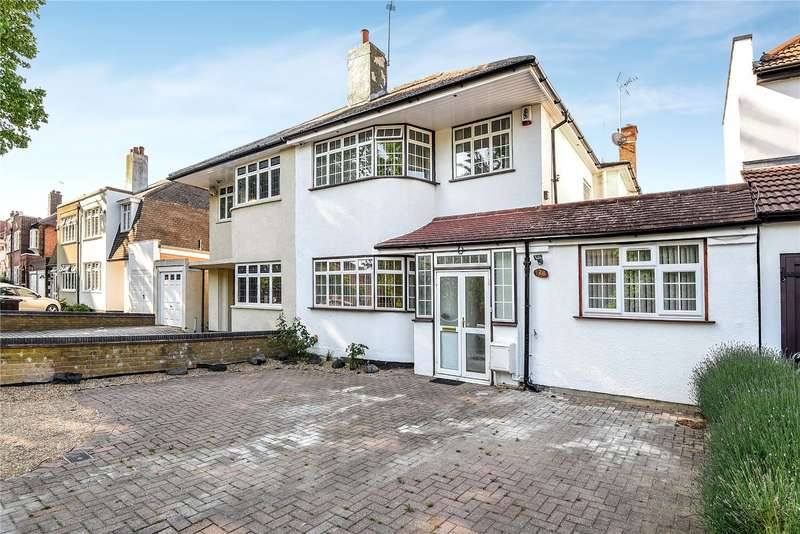 4 Bedrooms Semi Detached House for sale in Uxbridge Road, Hatch End, Middlesex, HA5