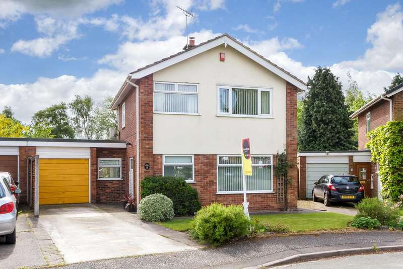 3 Bedrooms Detached House for sale in Baddiley, Cheshire