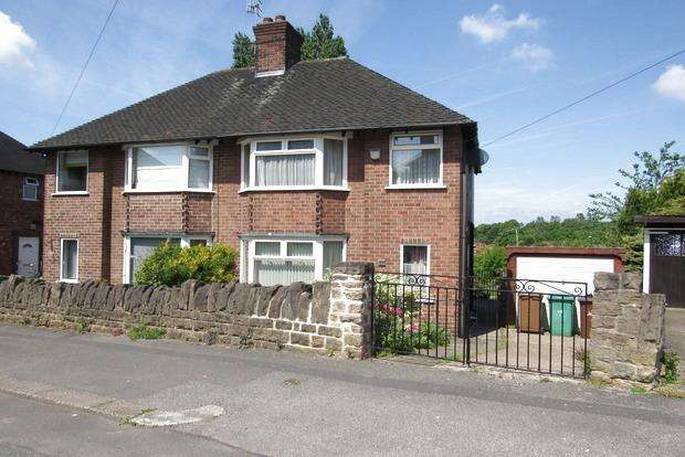 2 Bedrooms Semi Detached House for sale in Tettenbury Road, Basford, Nottingham, NG5