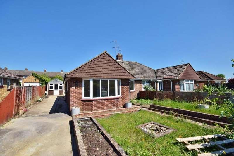 3 Bedrooms Semi Detached House for sale in Berg Estate, Basingstoke, RG22