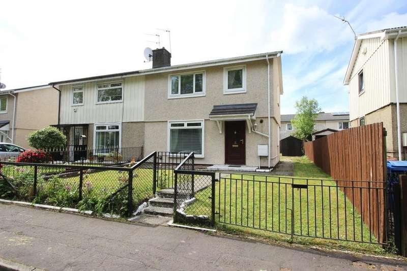 3 Bedrooms Semi Detached House for sale in 42 Morrison Quadrant, Linnvale, G81 2TA
