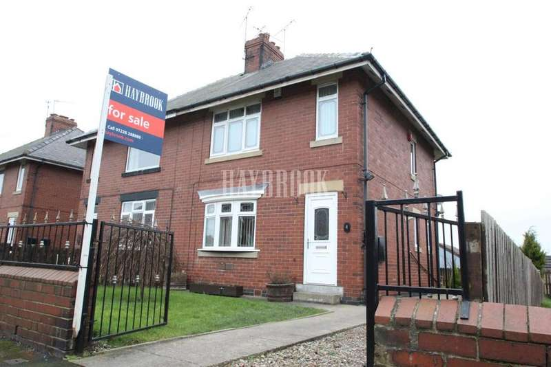 2 Bedrooms Semi Detached House for sale in Allott Crescent, Jump