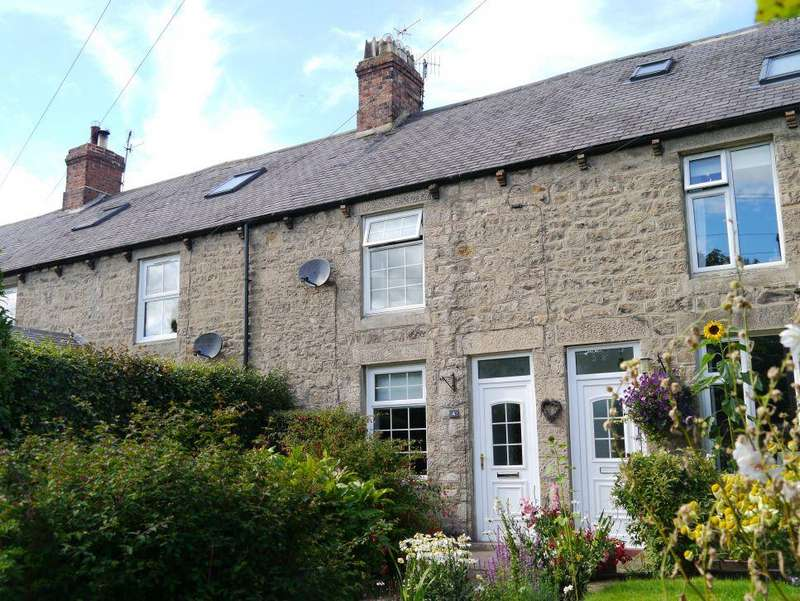 2 Bedrooms Terraced House for sale in Castle View, Ovingham