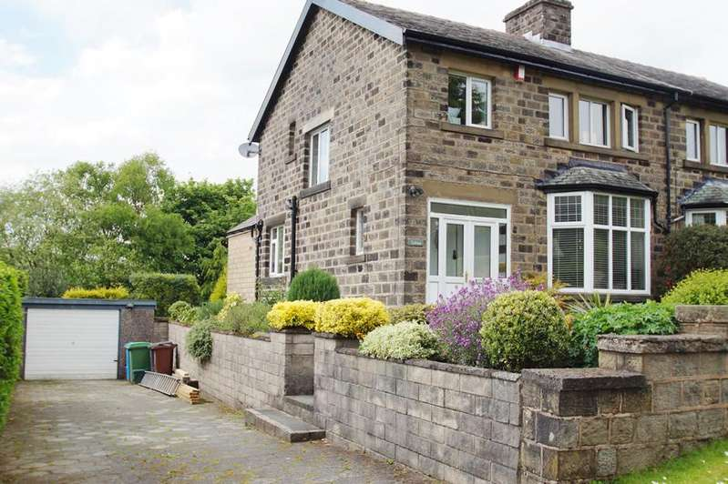 3 Bedrooms Semi Detached House for sale in Steadway, Greenfield OL3