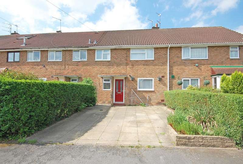 3 Bedrooms Terraced House for sale in GREEN OAK ROAD, Codsall, Wolverhampton WV8