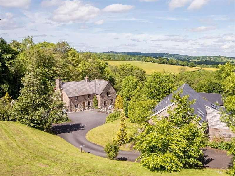 4 Bedrooms Country House Character Property for sale in Abbeydore, Herefordshire