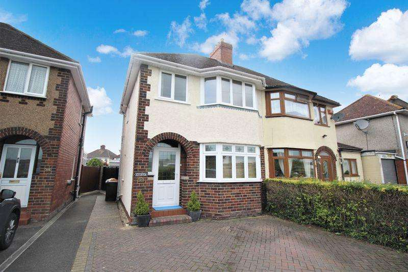 3 Bedrooms Semi Detached House for sale in Nash Road, Lliswerry, Newport