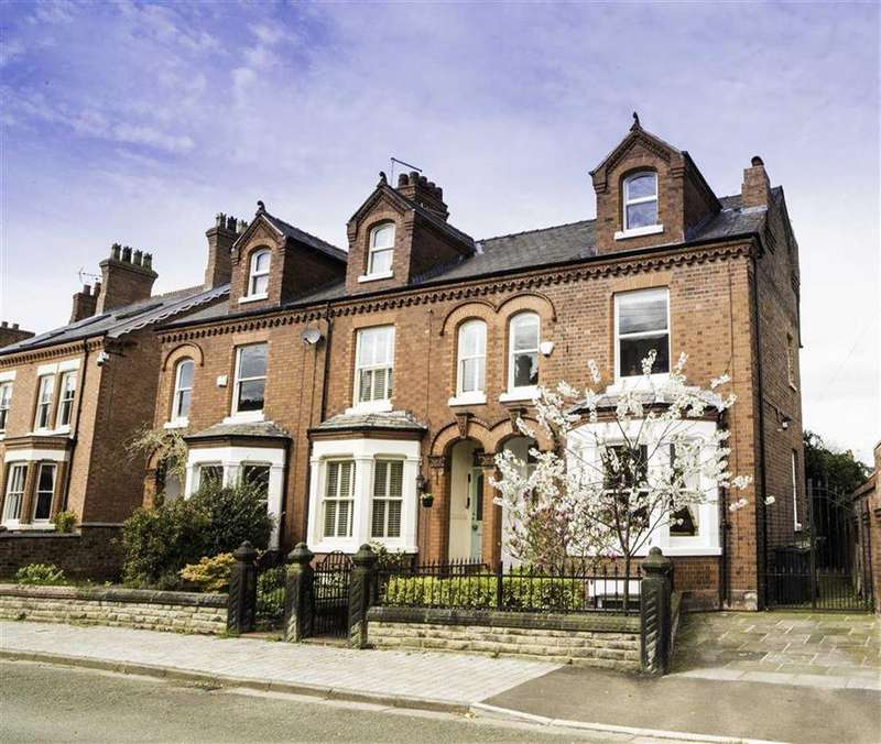 4 Bedrooms Semi Detached House for sale in The Crescent