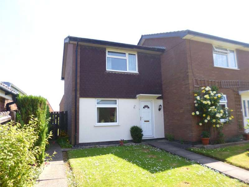 2 Bedrooms End Of Terrace House for sale in Clee View Road, Bridgnorth, Shropshire
