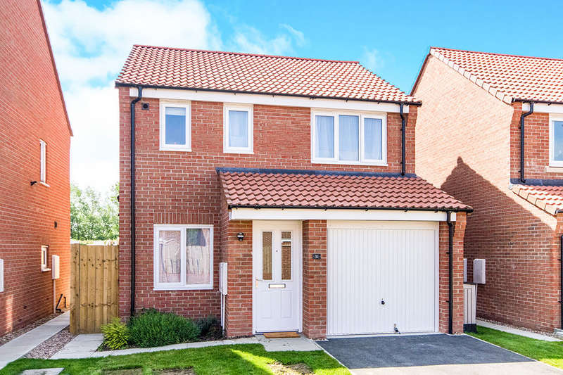 3 Bedrooms Detached House for sale in Cupola Close, North Hykeham, Lincoln, LN6