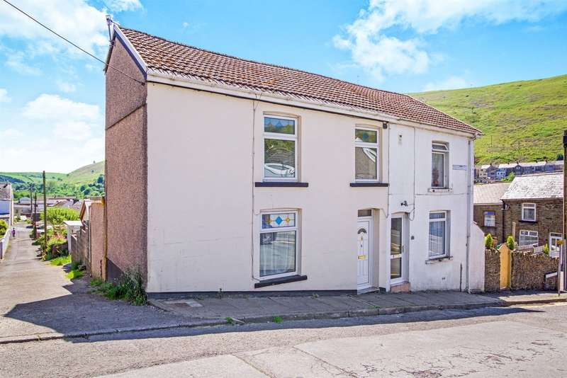 2 Bedrooms Semi Detached House for sale in Rhiwglyn Road, Ogmore Vale, Bridgend