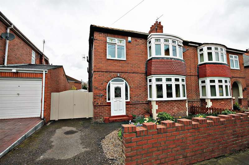 3 Bedrooms Semi Detached House for sale in Leesfield Drive, Meadowfield, Durham