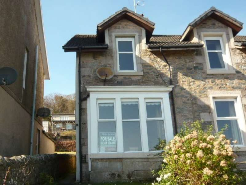 2 Bedrooms Semi Detached House for sale in Roselea Shore Road, Tighnabruaich, PA21 2DX