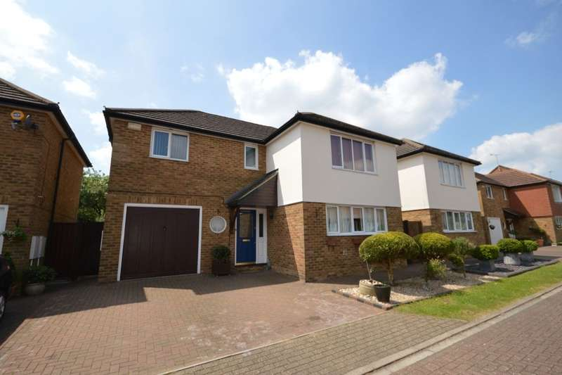 4 Bedrooms Detached House for sale in Hilton Close, Stevenage, SG1